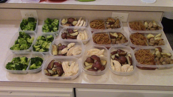 Meal Prep Week of 1/25/2016
