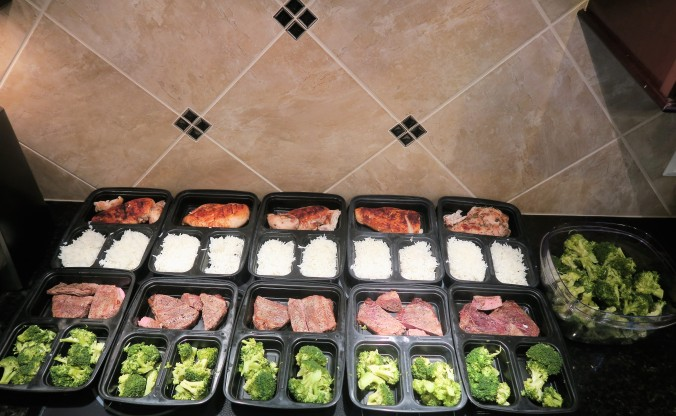 July 11th, Weekly Meal Prep