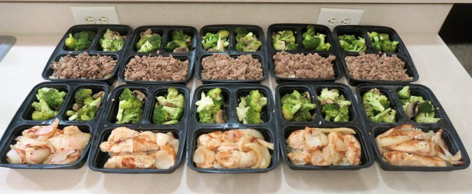 July 18th, 2016 Meal Prep