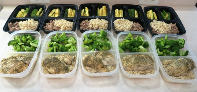 July 25th, 2016 Meal Prep
