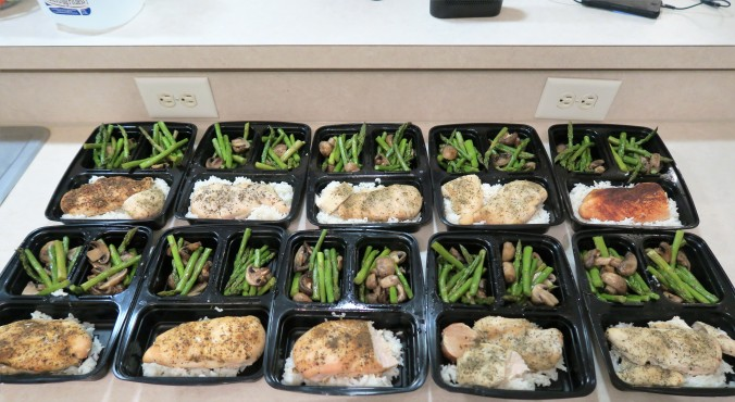 August 15th, 2016 Meal Prep