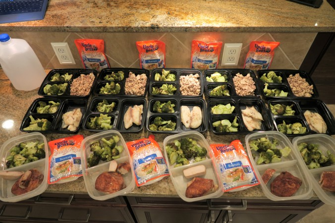 August 22nd, 2016 Meal Prep