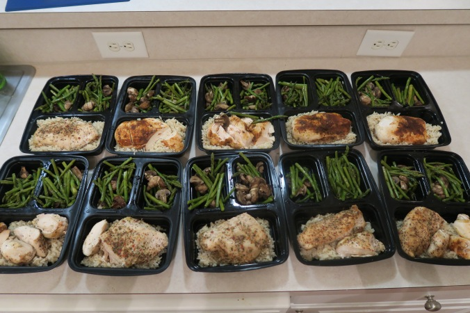 August 29th, 2016 Meal Prep