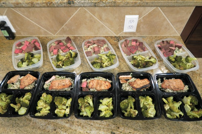 September 5th, 2016 Meal Prep